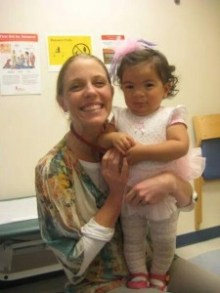 Dr. Kelly Evans and Genesis at Seattle Children's Hospital