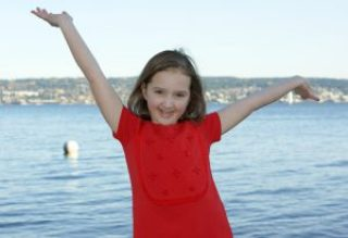 Katie Belle, now 10 years old, was diagnosed with high-risk neuroblastoma when she was 3.