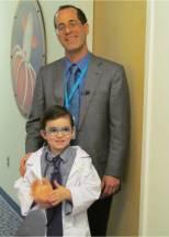 Landon Browne and Dr. Jay Rubinstein