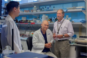 Dr. Mark Majesky and his team are patenting a blood test using the biomarker they discovered to track whether propranolol shrinks a patient's hemangiomas.