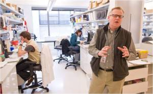 Troy Torgerson's lab helped the state prep for SCID newborn screening