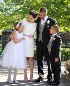 The Olivera's wedding day