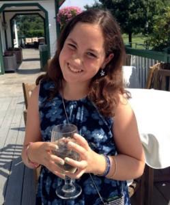Charlotte, last summer in Boston