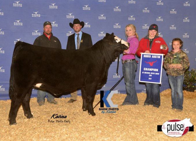 Rodeo Austin – Jr. ARB Heifers – Champions | The Pulse