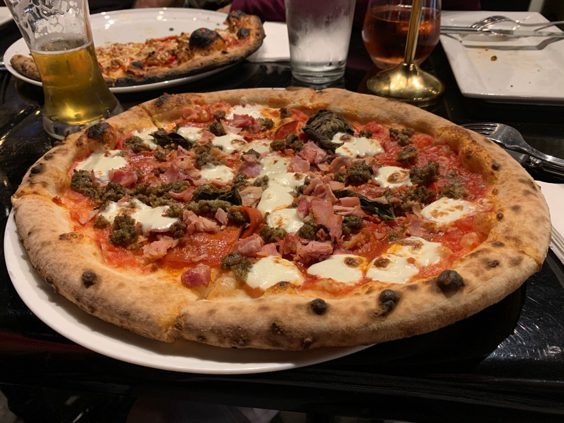 """""""The Meats"""" Pizza at MidiCi in Maitland"""