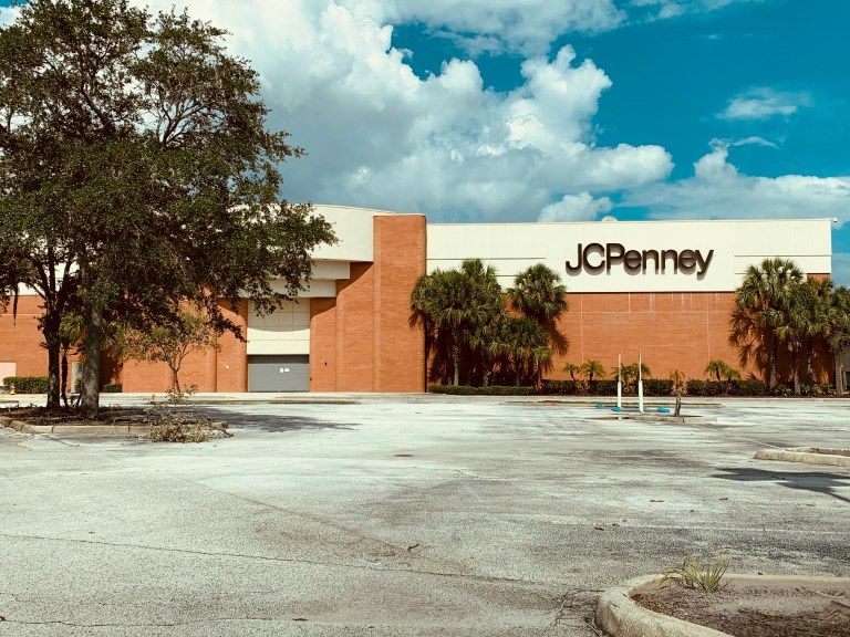 J.C. Penney Closes at Fashion Square Mall