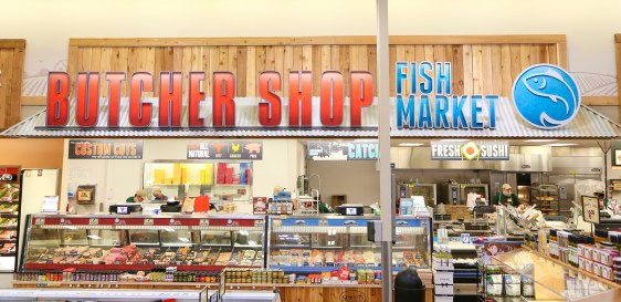 (The Butcher Shop and The Fish Market.)