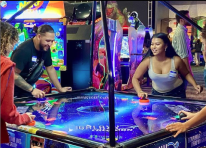 (Arcade Games at The Keg Social. Photo courtesy of @TheKegSocial on Instagram.)