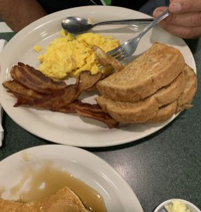 (The Bissell Breakfast.)