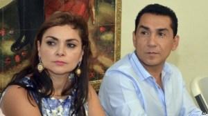 Iguala mayor Jose Luis Abarca and wife,  Maria de los Angeles Pineda.  Courtesy: bbc.com