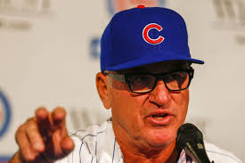 Joe Maddon, new head coach of the Cubs, courtesy of the New York Post