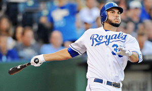 Royals first baseman Eric Hosmer. Courtesy of North Platte Post.