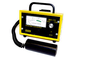 A Geiger counter Courtesy: commons.wikimedia.org