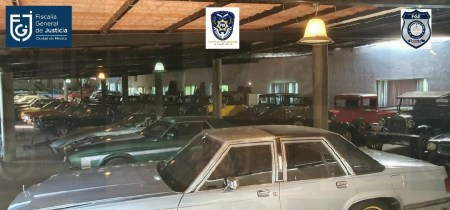 Classic cars seized from former Police Chief Raymundo Collins Flores