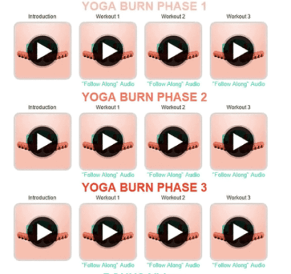 Three Phases of The Yoga Burn
