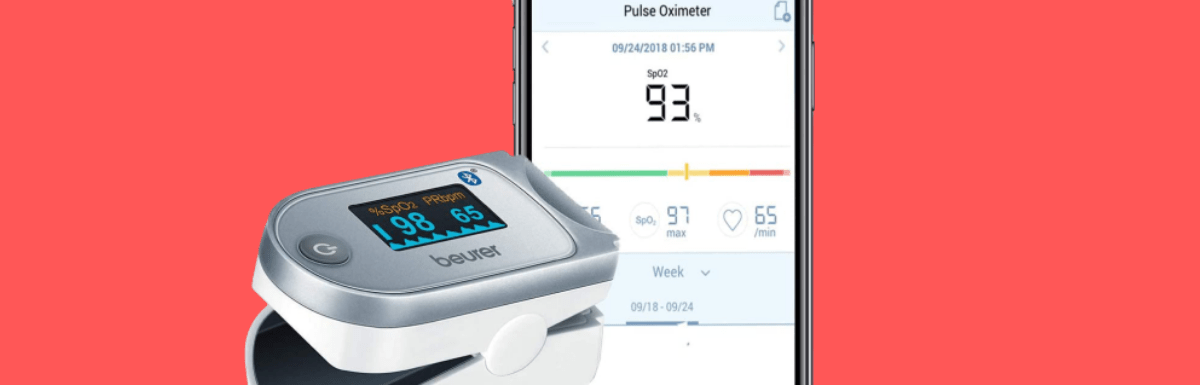 Beurer PO60 Bluetooth Fingertip Pulse Oximeter