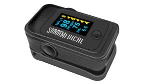 OLED Fingertip Pulse Ox gadget
