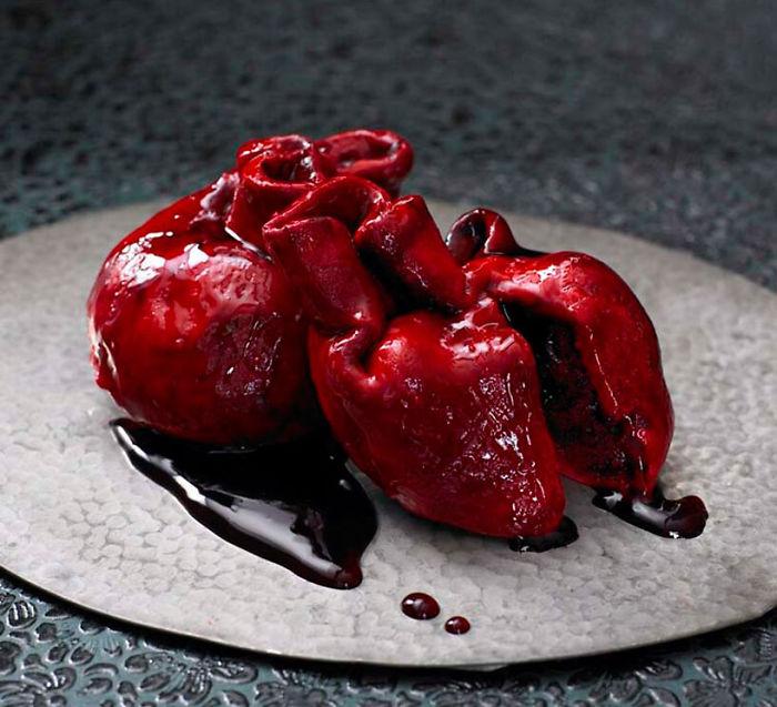 #1 Red Velvet Heart Cake
