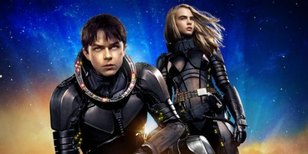 Dane DeHaan & Cara Delevingne in Valerian & the City of a Thousand Planets