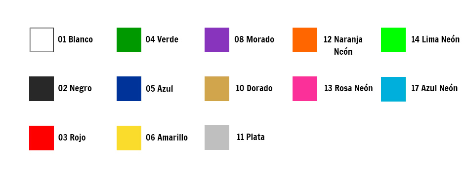 Colores Trilaminadas