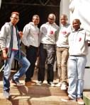 South Participants, Bruce, Thulani, Fezekile, Pholoso and Sandile