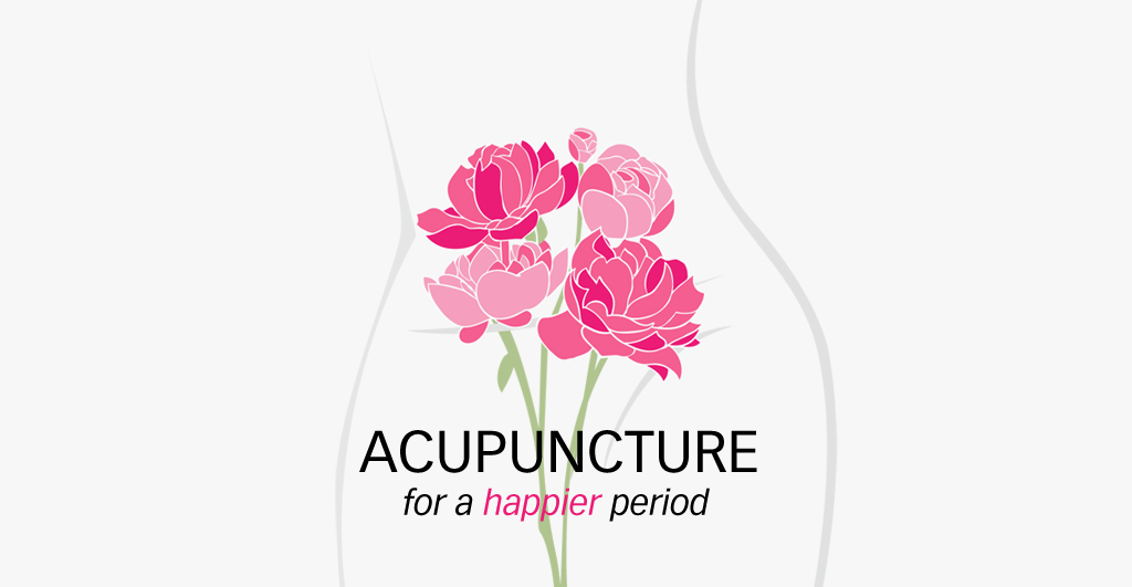 Acupuncture for a happier period