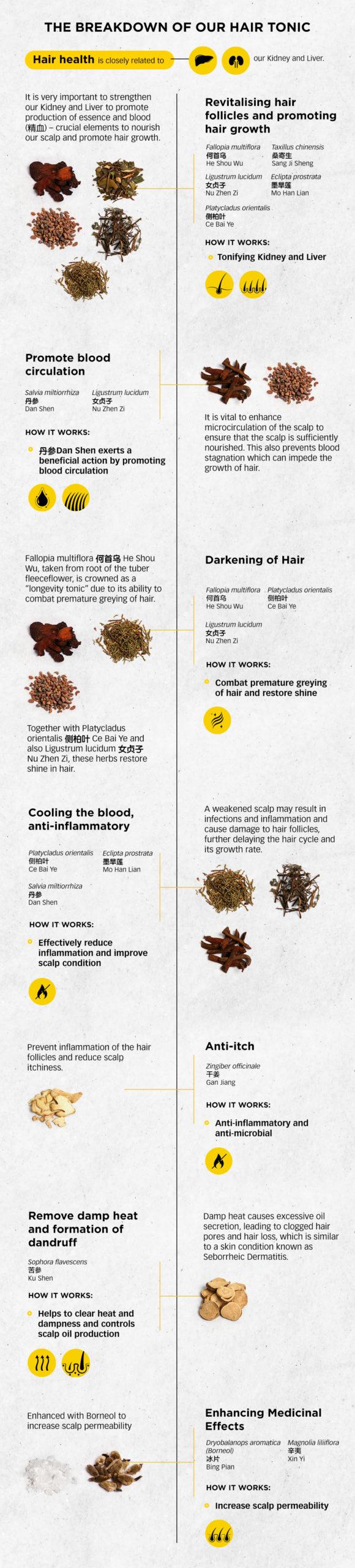 info-The breakdown of our hair tonicBreakdown