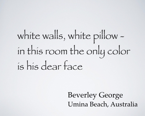 white walls white pillow bgeorge.033117