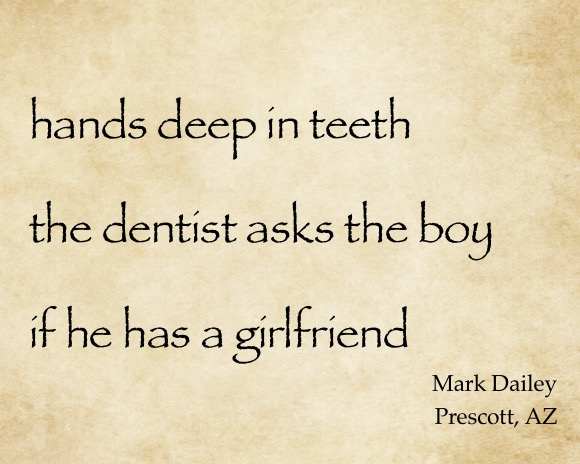 Hands deep in teeth