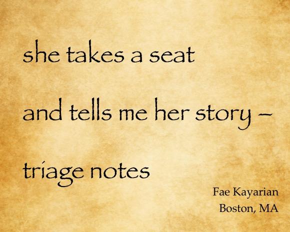 She takes a Seat