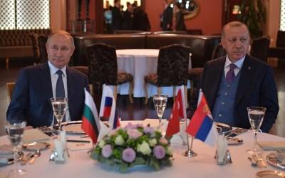 Dziś spotkanie Putin-Erdogan