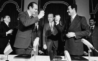 Macron w Bagdadzie, czyli o przyjaźni Chiraca z Saddamem słów kilka