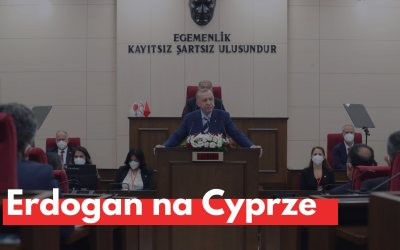 Prezydent Erdogan na Cyprze