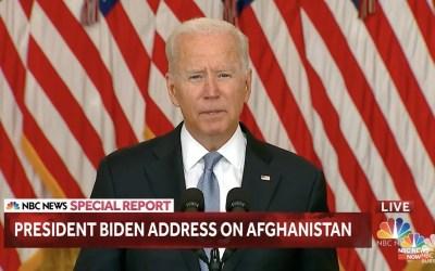 Joe Biden o sytuacji w Afganistanie