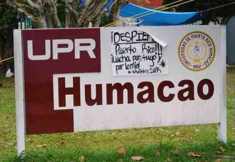 CGE de UPR-Humacao solicita demora ante el inicio de clases
