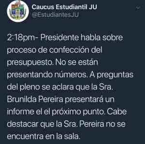 El presidente interino de la UPR veta moción de realizar reunión extraordinaria de la Junta Universitaria