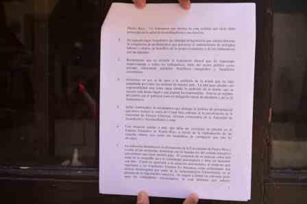 Grupos sindicales obtienen la firma del gobernador en la carta de reclamos presentada el 1 de mayo