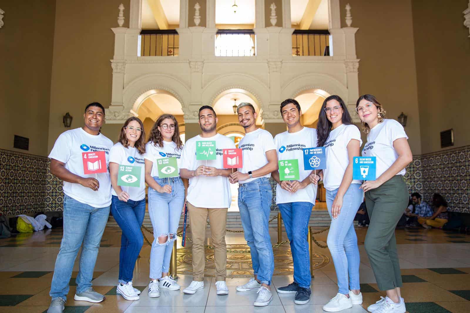 Estudiantes de la IUPI son seleccionados para trabajar proyectos de impacto comunitario
