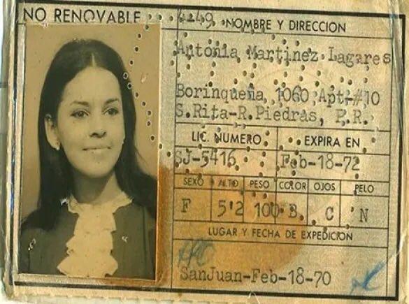 La historia eterna de Antonia Martínez Lagares