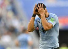 Suárez se lamenta un gol