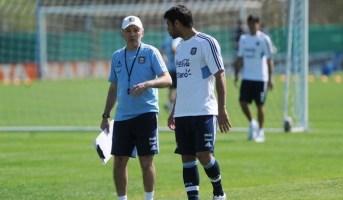 Sabellla y Domínguez en la selección