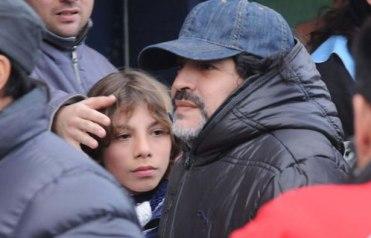 La vez que Maradona fue al Bosque