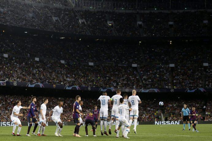 El gol de tiro libre del astro argentino