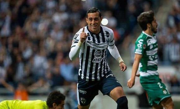 Resultado de imagen para Monterrey golea a Santos Laguna