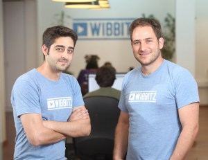 Wibbitz co-founders Zohar Dayan and Yotam Cohen.