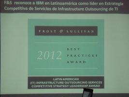 Frost & Sullivan reconocimiento a IBM