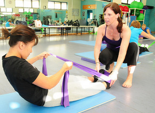 Pilates classes help keep European military communities fit - FMWRC - US Army - 100924