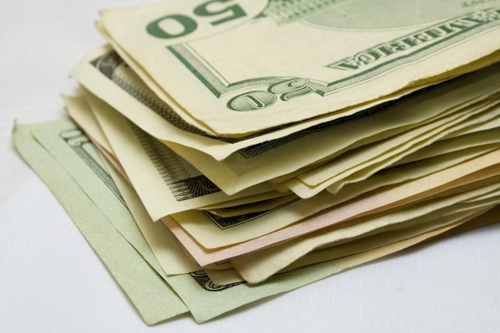 batch of dollars