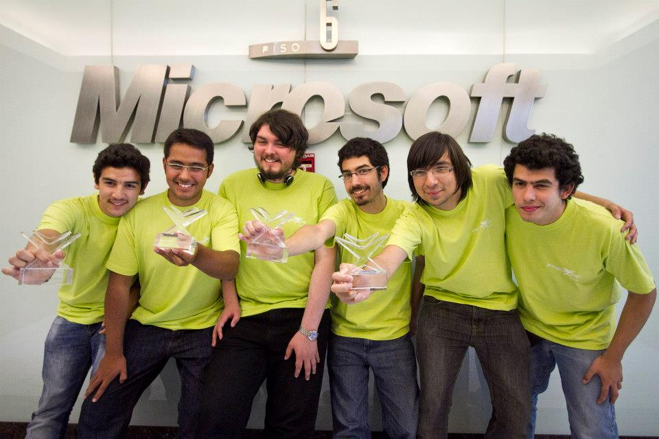 Kinectsiology ganadores Imagine Cup 2013 Chile