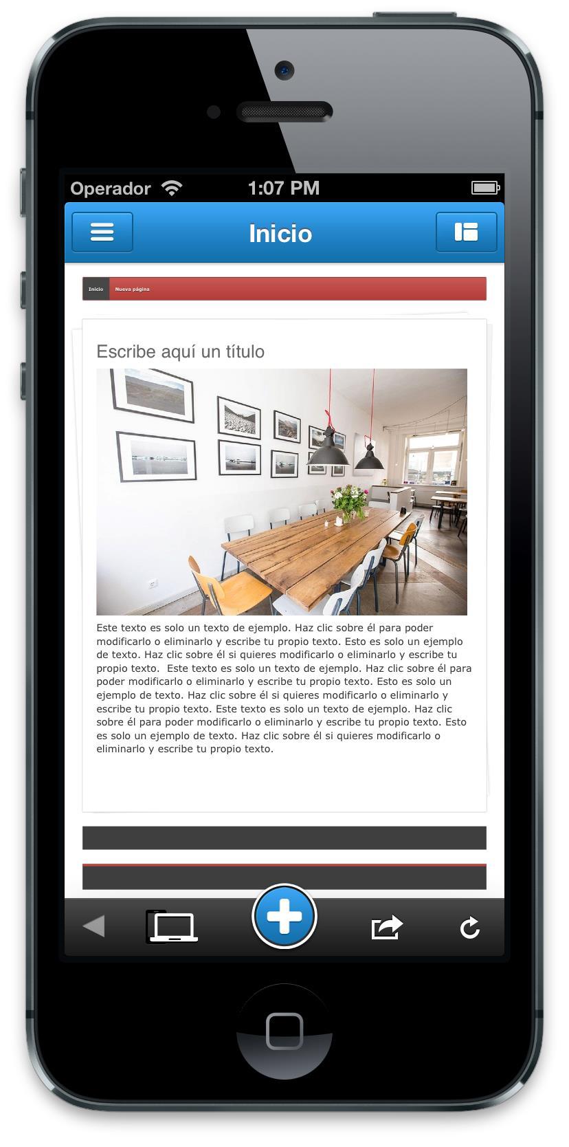 Jimdo App iOS3